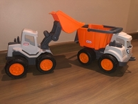 Used Kids Activity Toys Truck Loader, Tractor in Dubai, UAE