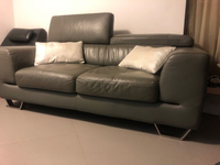Used Genuine Leather Sofa in Dubai, UAE