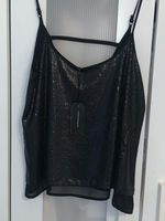 Used Black Sequin Vest in Dubai, UAE