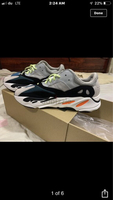 Used Yeezy 700. Shoe.  Made in Vietnam in Dubai, UAE