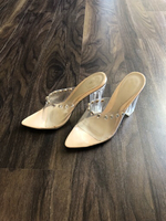 Used Missguided clear heels  in Dubai, UAE