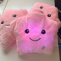 3 x plush pillow color-change light NEW