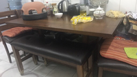 Used table with five chairs in Dubai, UAE