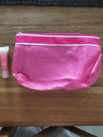 Used Lancôme juicy tube and cosmetic bag in Dubai, UAE