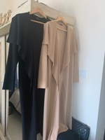 Used Waterfall coat cardigan black and beige  in Dubai, UAE