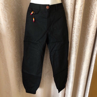 Used Black pants size XL in Dubai, UAE