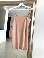 Used TOPSHOP Nude Pink Summer Dress Size 10 in Dubai, UAE