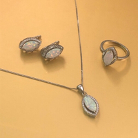 Used Opal silver set in Dubai, UAE