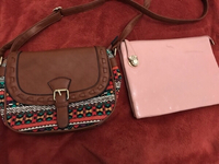 Used Bag + clutch  in Dubai, UAE