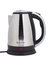Used Electric kettle 1.8 ltr silver/Black/Whi in Dubai, UAE