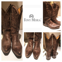 Used Cowboy boots Tony MORA  in Dubai, UAE