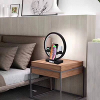 Multifunction Lamp Wireless Charger BLK