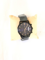 Used Waterproof Quartz Watch Blue+Black in Dubai, UAE