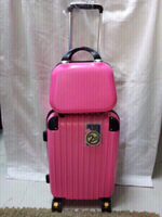Used 2 pcs set Travel suit case plus bag new  in Dubai, UAE