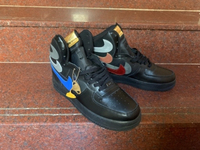 Used Nike sneakers high cut size 44, new in Dubai, UAE
