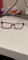 Used Purple and white glasses  in Dubai, UAE