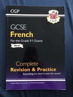 Used CGP GCSE French 9-1 Revision + Practice in Dubai, UAE
