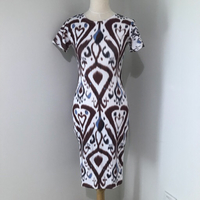Bodycon Graphic Print Dress NEW Small