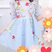 Girl floral dress 160/155cm 13-14 years