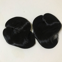 Used Density top hair 2pcs (new) black color  in Dubai, UAE