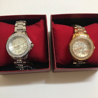 Used Rose Gold and silver bee sister watches  in Dubai, UAE