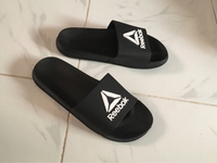 Used Reebok slippers size 43, new in Dubai, UAE