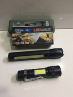 Used LED rechargeable flashlights 2 pcs set in Dubai, UAE