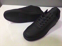 Used Spanning formal shoes,black size 42 new  in Dubai, UAE
