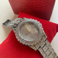 Used Beautiful watch in full zircon in Dubai, UAE