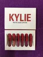 Used Kylie miniature lipsticks (6 pcs) in Dubai, UAE