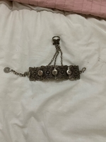 Used Silver connected bracelet and ring  in Dubai, UAE