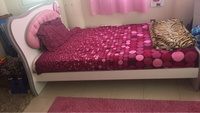 Used TWIN SIZE BED Frame and matress  in Dubai, UAE