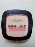 L'Oréal original powder and lipstick