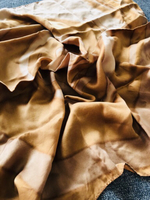 Used Brown silk scarf  in Dubai, UAE