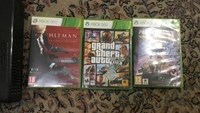 Used Xbox 360 with hit man: absolution gta 5  in Dubai, UAE