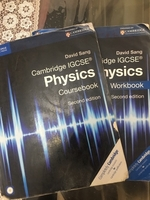 Used Physics IGCSE textbook & workbook in Dubai, UAE