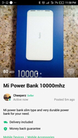 Used Redmi 1000mhz power bank  in Dubai, UAE