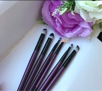 Used 6 brushes 1 blend 🤩black-purple🖤💜new  in Dubai, UAE