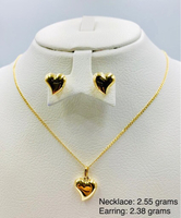 Used 18k Gold SET in Dubai, UAE
