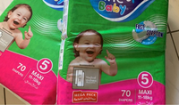 Used 2 pieces Fine Baby Diaper  in Dubai, UAE