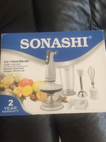 Used Sonashi 3in 1 blender(new) in Dubai, UAE