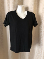 Used Black T-Shirt size L in Dubai, UAE