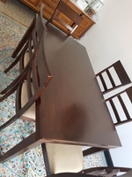 Used Dining table set of 6 chairs  in Dubai, UAE