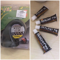 Used Waterproof Motorcycle Horn + Sealants  in Dubai, UAE