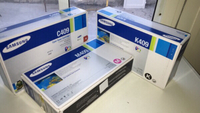 Used SAMSUNG TONERS CARTRIGE SET (3) in Dubai, UAE