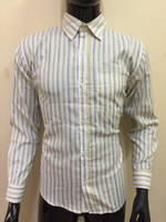 Used Olive yellowish shirt for men - Size 40 in Dubai, UAE