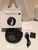 Used HD BLUETOOTH smart watch black in Dubai, UAE