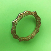 Bronze-Gold Accessory Bangle