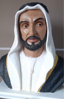 Used Original Sheikh Zayed Sculpture in Dubai, UAE