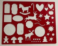Used Holiday themed stencils set in Dubai, UAE